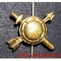 Петличная эмблема РВСН золотого цвета
