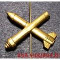 Петличная эмблема зенитных ракетных войск России