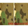 Фальшпогоны камуфлированные ткань мультикам