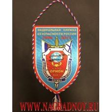 Вымпел с эмблемой ФГУП НТЦ Орион ФСБ России