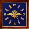 Часы настенные с эмблемой МВД России