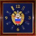 Настенные часы с эмблемой ФСО России