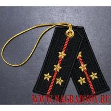 Брелок Погоны капитана Морской пехоты России