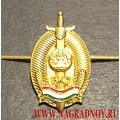 Петличная эмблема ВКД Республики Таджикистан