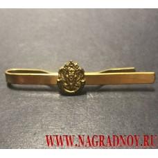 Закрепка для галстука с эмблемой Пограничной службы ФСБ