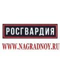Нашивка Росгвардия на грудь пластизоль