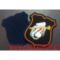 Шеврон военнослужащих Главного оперативного управления ГШ ВС РФ для офисной формы синего цвета