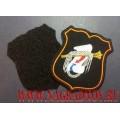 Шеврон военнослужащих Главного оперативного управления ГШ ВС РФ для офисной формы черного цвета