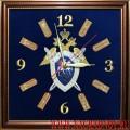 Часы настенные с эмблемой Следственного комитета России