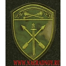 Шеврон частей оперативного назначения ЦО ВНГ для камуфляжа Мох с липучкой
