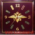 Настенные часы с эмблемой Внутренних войск