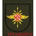 Шеврон для офисной формы военнослужащих 132 бригады связи Западного военного округа