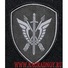 Шеврон сотрудников СОБР Рысь войск национальной гвардии РФ с липучкой