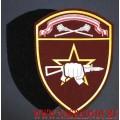 Нарукавный знак военнослужащих ОСН Центрального округа ВНГ с липучкой