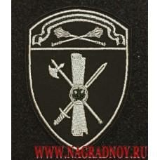 Шеврон ЛРР и ГК Центрального округа для камуфляжа с липучкой