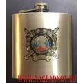 Фляжка для алкоголя с эмблемой ГПС МЧС