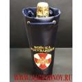 Сумочка для бутылки с вышитой эмблемой Росгвардии