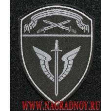 Нарукавный знак сотрудников ОМОН Северо-Западного округа Росгвардии с липучкой