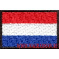 Нашивка флаг Нидерландов