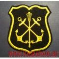 Шеврон военнослужащих Главного штаба ВМФ нового образца