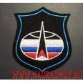 Шеврон командования Войск воздушно-космической обороны