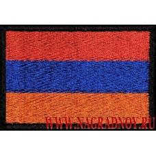 Нашивка с липучкой Флаг Армении