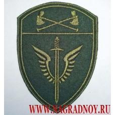 Шеврон для камуфляжа Мох ОМОН Приволжского округа Росгвардии