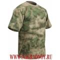 Камуфлированная футболка расцветки Мох