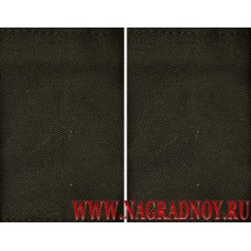 Фальшпогоны из ткани черного цвета