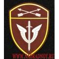 Нарукавный знак сотрудников ОМОН СО Росгвардии краповый с липучкой