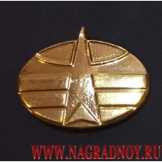 Петличная эмблема Космических войск России