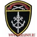 Нашивка на рукав Морские воинские части Росгвардии Северо-Западного округа