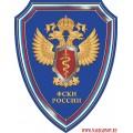 Щит с эмблемой ФСКН России