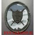 Нарукавный знак сотрудников ОСН территориальных органов УИС камуфлированный