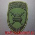 Нарукавный знак сотрудников подразделений ГИБДД МВД для полевой формы