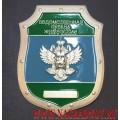 Нагрудный жетон Ведомственная охрана ЖДТ России