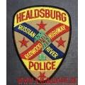 Нашивка на рукав Healdsburg Police