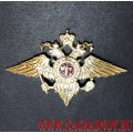 Эмблема МВД на тулью фуражки
