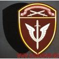 Нарукавный знак сотрудников ОМОН Северо-Западного округа Росгвардии