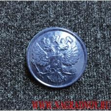 Форменная пуговица синего цвета полиамид