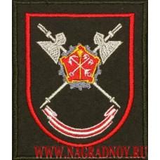 Шеврон 1060 цента МТО Западного военного округа