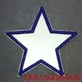 Нашивка Звезда со светоотражающей поверхностью