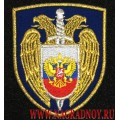 Нарукавный знак Служба безопасности Президента РФ с липучкой