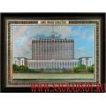 Сувенирная картина Здание Правительства РФ