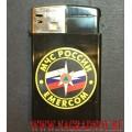 Зажигалка с эмблемой МЧС РФ