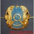 Эмблема на тулью фуражки Казахстан