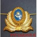 Кокарда герб Республики Казахстан в обрамлении