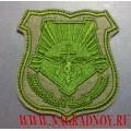 Нашивка на рукав военнослужащих ВВО полевая