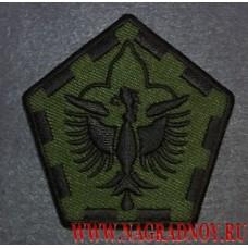 Нашивка 555 инженерная группа армии США