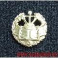 Петличная эмблема Инженерные войска золотого цвета